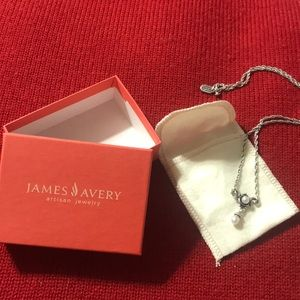 James Avery freshwater pearl necklace